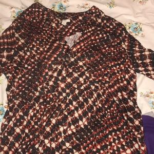 Cato's women's shirt heavy long size 18 W